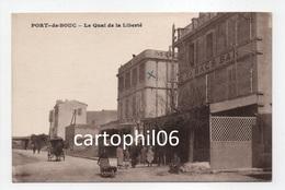 - CPA PORT-DE-BOUC (13) - Le Quai De La Liberté (MODERN HOTEL) - Photo-Edition A. Tardy - - France