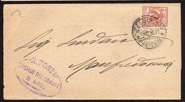 ITALY ITALIA 1910. Busta 2C, NAPOLI - MANFREDONIA - 1900-44 Vittorio Emanuele III