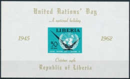 LIBERIA - United Nations Day - 2 Werte Postfrisch/** - Timbres