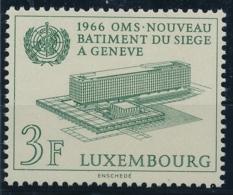 LUXEMBOURG - OMS - Weltgesundheitsorganisation - 1 Wert Postfrisch/** - Autres