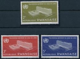 RWANDAISE - OMS - Weltgesundheitsorganisation - 3 Werte Postfrisch/** - Autres