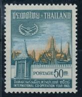 THAILAND - International Co-operation Year - 1 Wert Postfrisch/** - Autres
