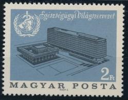 MAGYAR POSTA - UNGARN - OMS - Weltgesundheitsorganisation - 1 Wert Postfrisch/** - Autres