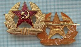 USSR / Cockade. Badge / Soviet Union / RUSSIA. Army. Armed Forces. Soldier NEW ! - Uniforms