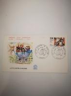 FRANCE FDC 1 Enveloppe 1er Premier Jour LUTTE CONTRE LE RACISME 1982 - Collection Timbre Poste - FDC