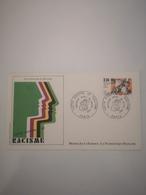 FRANCE FDC 1 Enveloppe NUMISMATIQUE 1er Premier Jour LUTTE CONTRE LE RACISME 1982 - Collection Timbre Poste - FDC