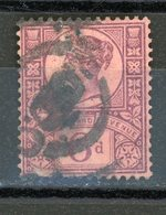 GRANDE BRETAGNE - 50 ANS DU REGNE DE VICTORIA - N° Yt 100 Obl. - 1902-1951 (Rois)