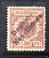 APR982 - NEU NUOVA GUINEA 1896 ,  N. 6 Nuovo Con Residui Di Gomma  (2380A) - Colonie: Nouvelle Guinée