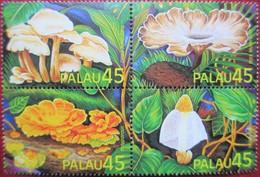 Palau  1989  4 V   MNH - Mushrooms
