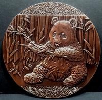 Médaille PANDA CHINE / CHINA PANDA Medal - Relief 9cm - Jetons & Médailles
