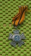 Medaille / Medal - Medaille - Avondvierdaagse - N.W.B, Oranje - Blauw Lint - The Netherlands - Netherland