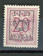BELGIQUE  I-I-53 / 31-12-53 N° Yvert ? (*) - Typo Precancels 1951-80 (Figure On Lion)
