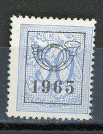 BELGIQUE  1963 N° Yvert ? (*) - Typo Precancels 1951-80 (Figure On Lion)