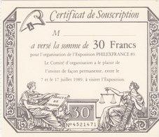 Philexfrance 89 - Visite Permanente - Tickets D'entrée