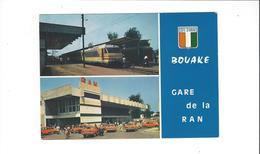 COTE D IVOIRE BOUAKE RAN STAION   MULTIVUES  TRAIN  ****  A  SAISIR *** - Elfenbeinküste