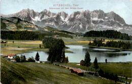 Kitzbühel, Tirol - Schwarzsee Mit Dem Wilden Kaiser * 4. 8. 1909 - Kitzbühel