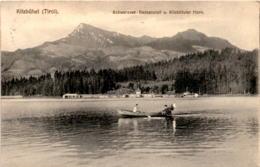 Kitzbühel, Tirol - Schwarzsee-Badeanstalt U. Kitzbüheler Horn * 13. 9. 1911 - Kitzbühel
