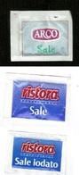 3 Bustine Sale - Varie - Zucchero (bustine)