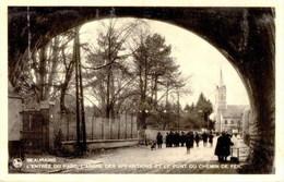 BEAURAING - L'Entrée Du Parc, L'Arbre Des Apparitions Et Le Pont Du Chemin De Fer - Beauraing