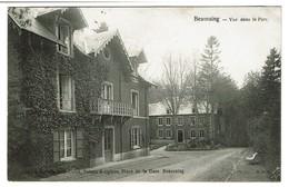 Beauraing - Vue Dans Le Parc - Circulée En 1906 Cachet étoile Pondrome - Edit. Meunier-Culot Tabacs Et Cigares - 2 Scans - Beauraing