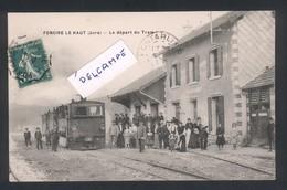 Foncine-le Haut - Le Départ Du Tram Gros Plan - Altri Comuni