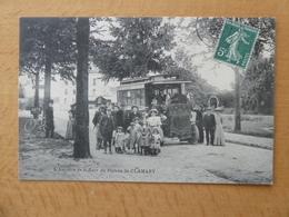 CLAMART (92)  L'autobue De La Gare Du Plateau De Clamart - Clamart