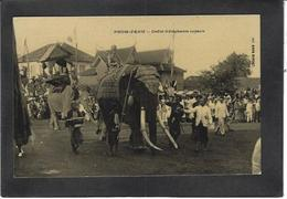 CPA Cambodge éléphant Non Circulé Roi King - Cambodia