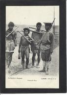 CPA Laos Asie Non Circulé Indochine Criminels KHAS Cangue - Laos
