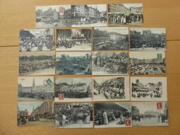 FRANCE Lot De 19 Bonne Cartes Sur Les Marchés - Cartes Postales