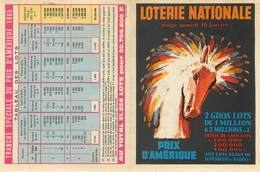 Publicités - Illustrateurs - Loterie Nationale - Hippisme - Courses De Chevaux - Prix D'Amérique - Illustrateur - Reclame