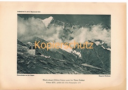 427 Madronhaus Rifugio Città Di Trento Alpenverein Berghütte Kunstblatt Kunstblatt  1919 !! - Unclassified