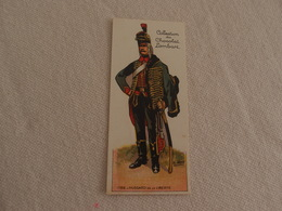 Chromo Découpi Chocolat Lombart Hussard De La Liberté - Lombart