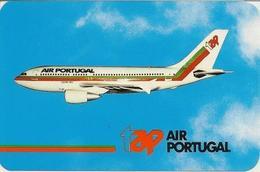 Calendarar Portugal 1987 - 88, Aviation - Airlines - Aircraft - Advertising - Calendars