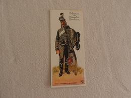 Chromo Découpi Chocolat Lombart Hussard De La Mort - Lombart