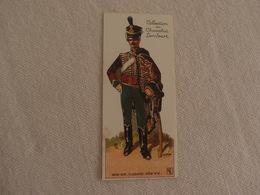 Chromo Découpi Chocolat Lombart Hussard 2° Régiment - Lombart