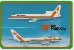 Calendarar Portugal 1988 - 89, Aviation - Airlines - Aircraft - Advertising - Calendars