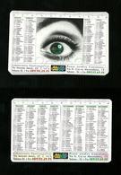 Calendarietto Pubblicitario 2002 - Tipografia Cartoleria Salerno - Calendari