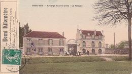 """BOISSY-SAINT-LEGER (78) - TAD Et Affranchissement Sur Coupon 1 Km """"Carte Voyage"""" - CP Grosbois - 11/05/1912 - Poststempel (Briefe)"""