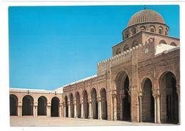 Tunisia Kairouan  Vue Exterieure De La Salle Desprieres Non Viaggiata Condizioni Come Da Scansione - Tunisia