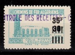 Algerie - Colis Postaux N** Luxe YV 187 - Parcel Post