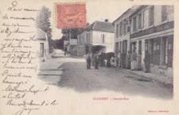 Glaignes (60) - Grande Rue - Francia