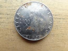 Vatican  100 Lire  1955  Km 55 - Vatikan