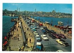 Turchia Istanbul Pont De Galata Non Viaggiata Condizioni Come Da Scansione - Turchia