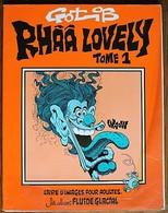 BD RHAA LOVELY - Tome 1 - Rééd. 1979 Fluide Glacial - Gotlib