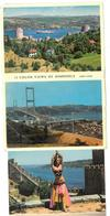 Turchia 12 Color Views Of Bosphorus Condizioni Come Da Scansione - Turchia
