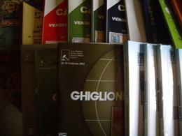 Cataloghi Aste Filateliche E Numismatiche, 30 Pezzi - Catalogues For Auction Houses