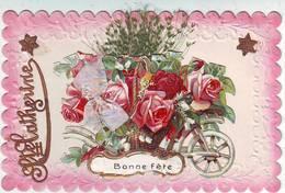 FANTAISIES . SAINTE CATHERINE . BONNE FÊTE . FLEURS . AJOUTIS . ETOILES . DECOUPIS . RUBAN - Saint-Catherine's Day