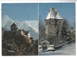 Liechtenstein Fürstentum – Principality – Principauté Schloss Vaduz – Rotes Haus Non Viaggiata Condizioni Come Da Scansi - Liechtenstein