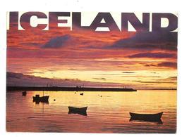 Islanda Iceland Tramonto Non Viaggiata Condizioni Come Da Scansione - Iceland