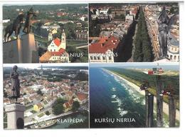 Lituania  Lietuvos Miestai The Cities Of Lithuania Non Viaggiata Condizioni Come Da Scansione - Lituania